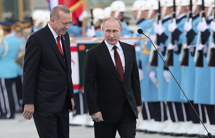 In Putin's presence start the works for the construction of Turkey's first nuclear station