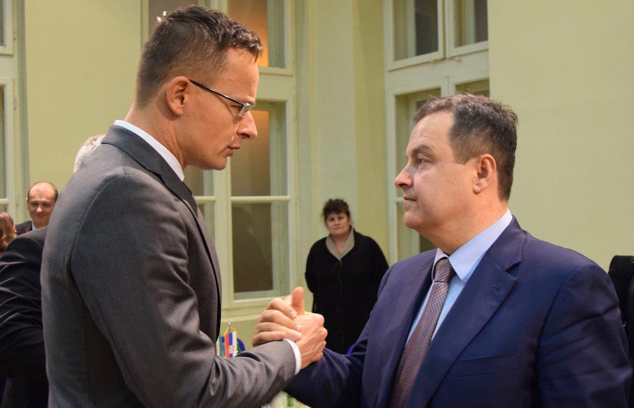 "Peter Szijjártó is a ""greatest Serb"" in international relations, Dacic says"