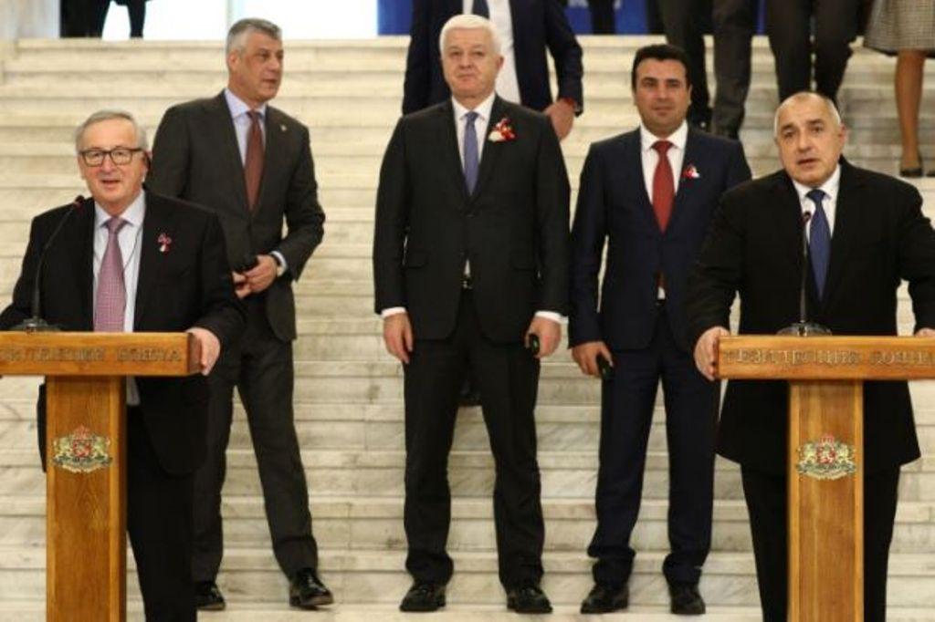 EU Summit, the 5 countries who do not recognize Kosovo refuse to participate