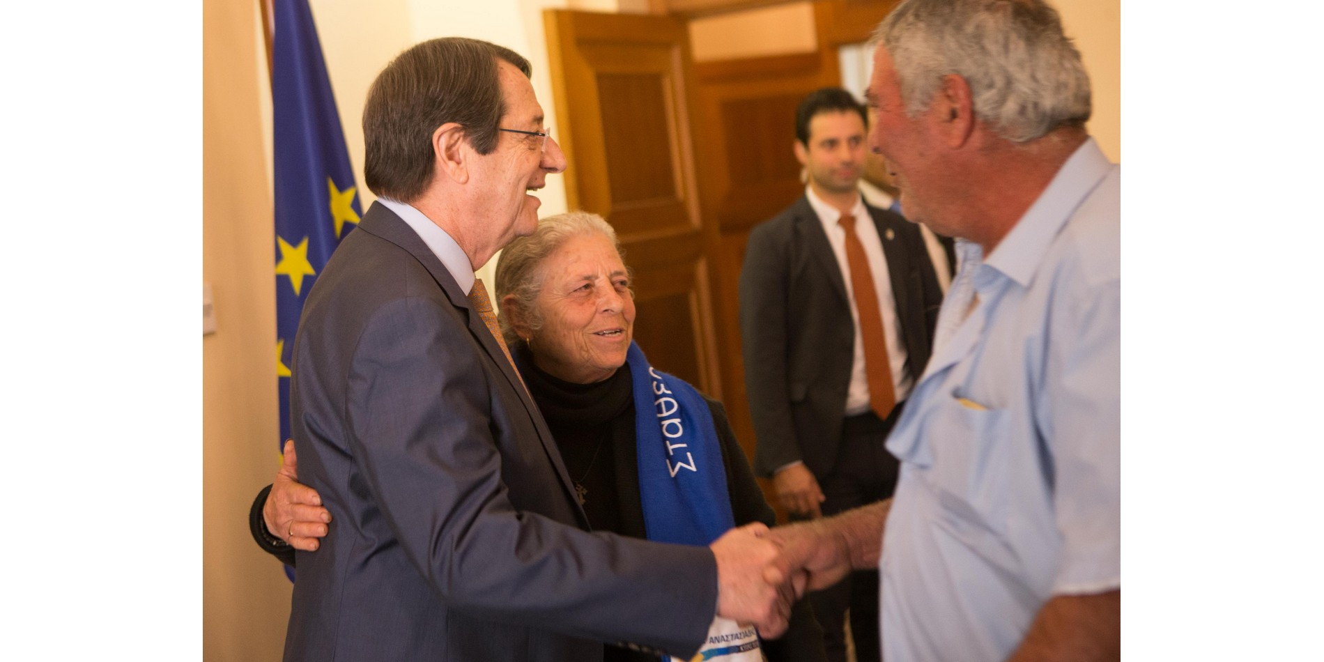President Anastasiades reiterates commitment to continue efforts on the Cyprus issue