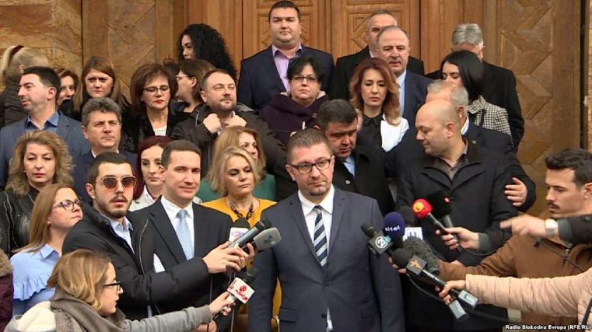 VMRO-DPMNE returns to Parliament with an interpellation motion for Zaev's government