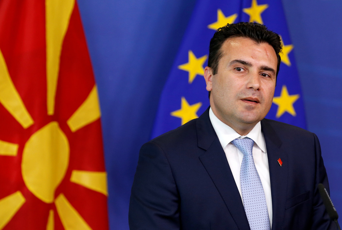 Zaev announces late September referendum over agreement on name issue