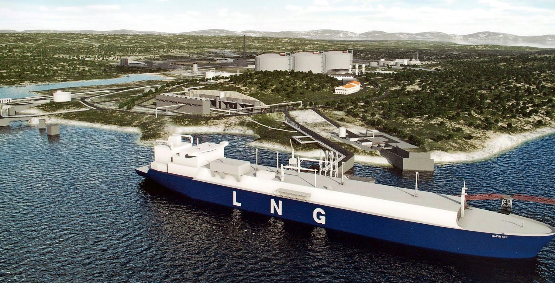 LNG sets the Balkans 'on fire'