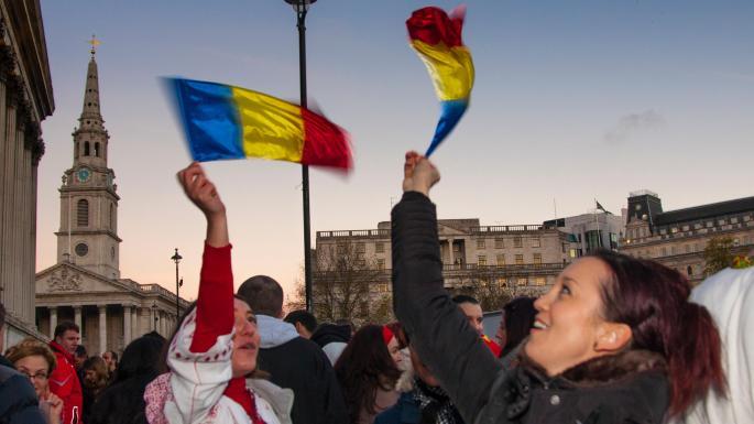 Romanians lead Balkan surge in UK residents