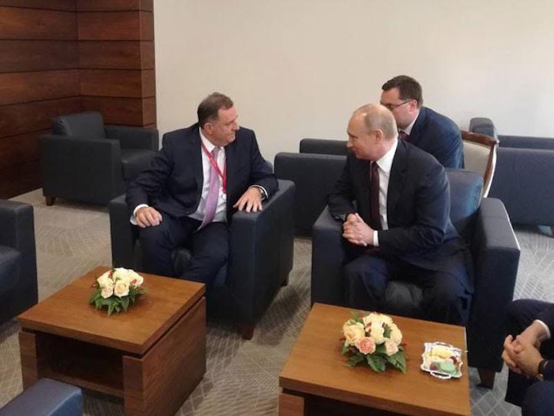 Dodik – Putin meeting at the SPIEF 2018