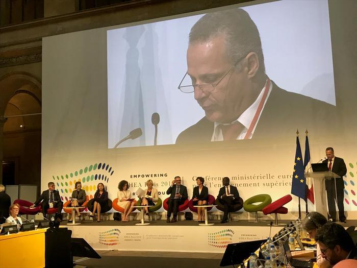 Education and Culture Minister of Cyprus took part in the Ministerial Conference on the Unified Higher Education Area