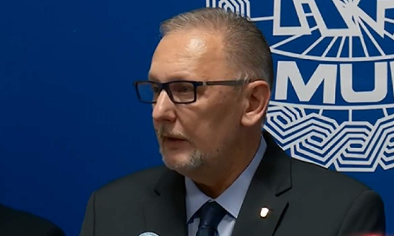 The U.S. Attorney General in Croatia, discusses bilateral anti-terror co-op