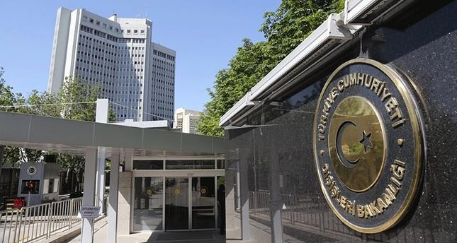 Ανακοίνωση Τουρκικού ΥΠ.ΕΞ για την απόφαση χορήγησης ασύλου σε τούρκο αξιωματικό.