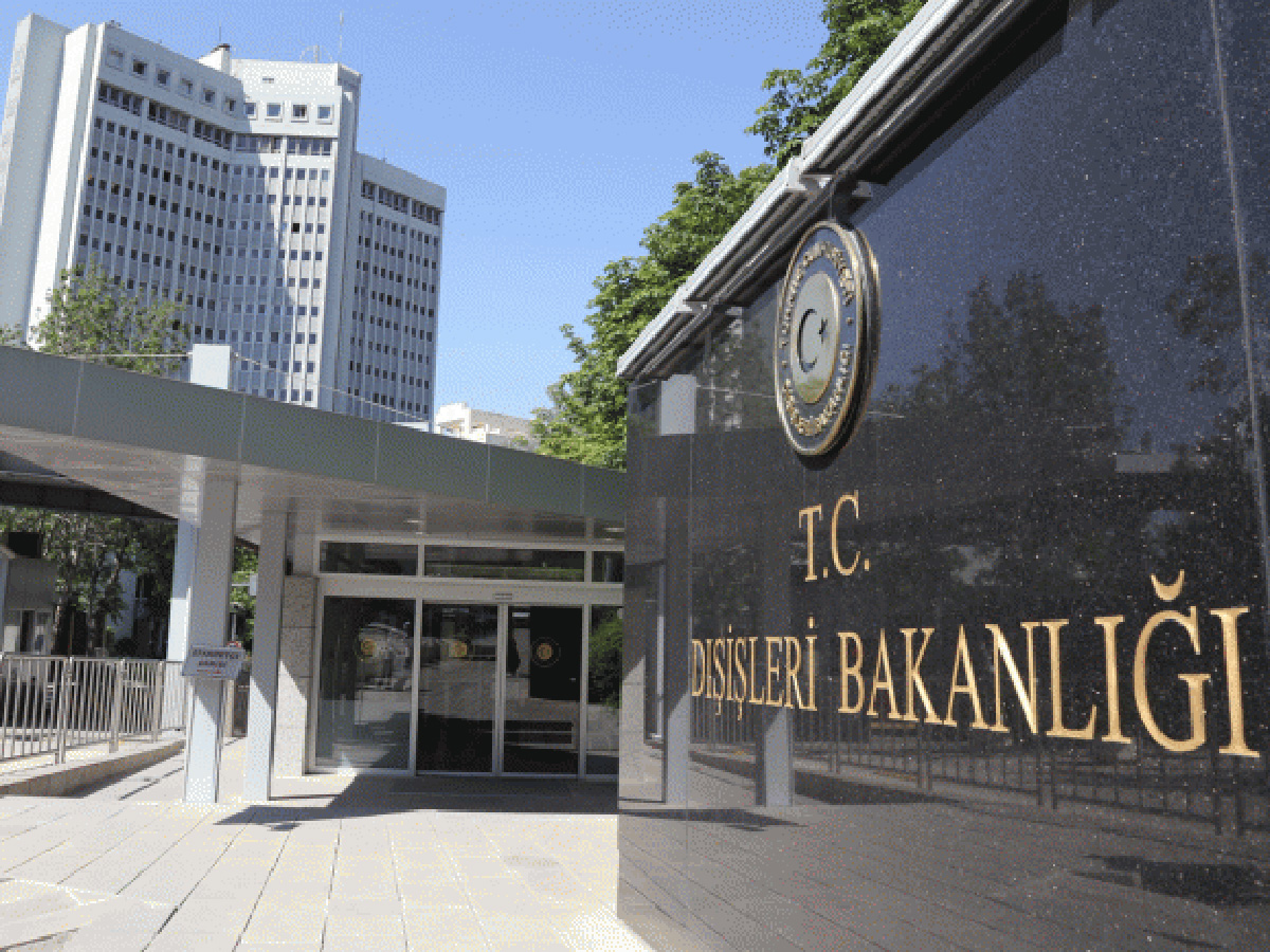 The Turkish Foreign Ministry's announcement on Greece's decision to grant asylum to a Turkish officer