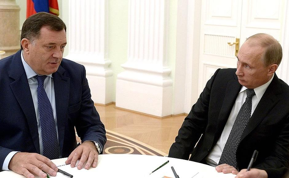 Dodik tomeet Putin for a second consecutive time, this one at the SPIEF '18