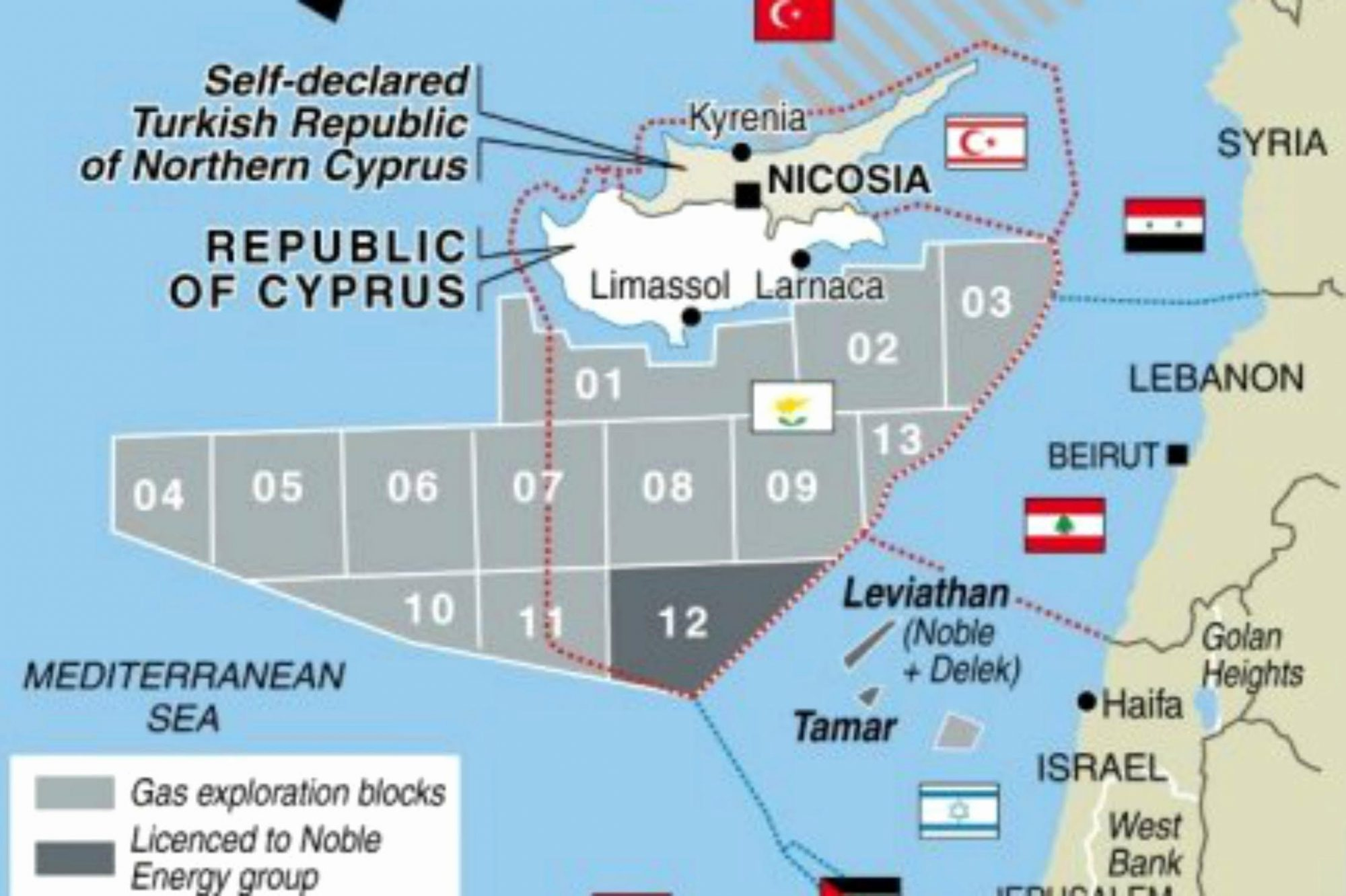 Iran's stance affects the energy balance in East Med