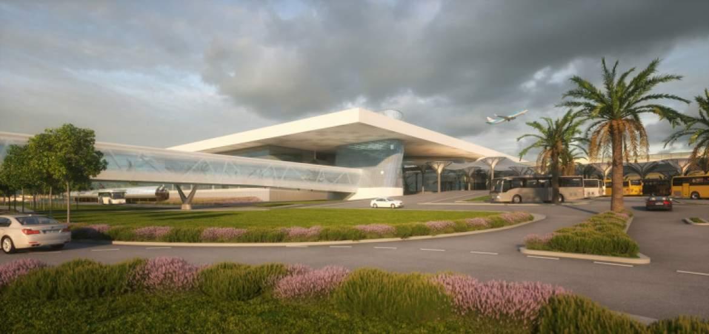 Split Airport's multi-million euro terminal building underway