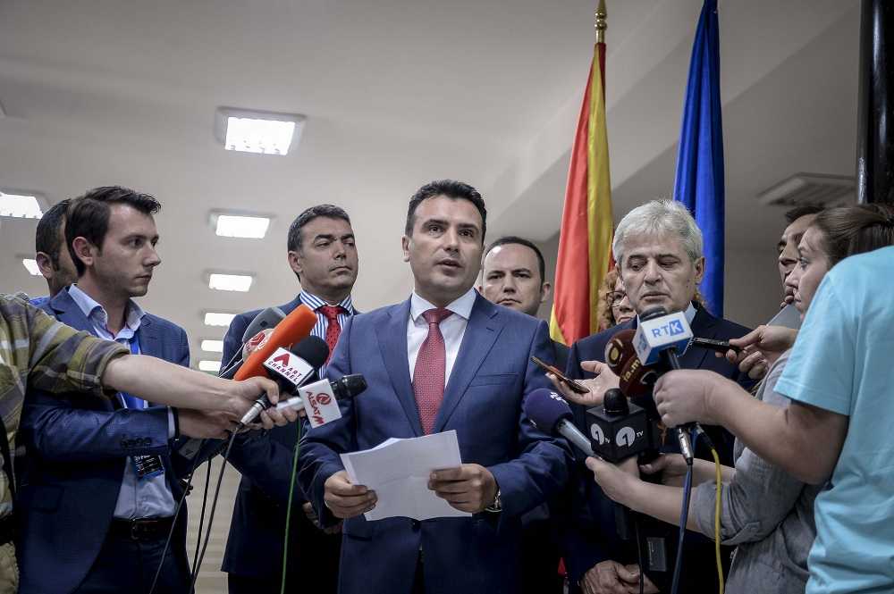 Zaev: 'Republic of Ilinden Macedonia' name proposal still in play
