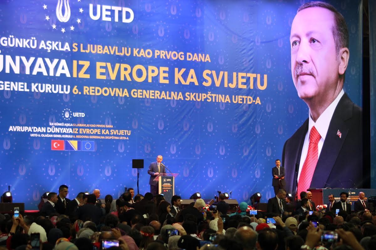 Erdogan demonstrated political force