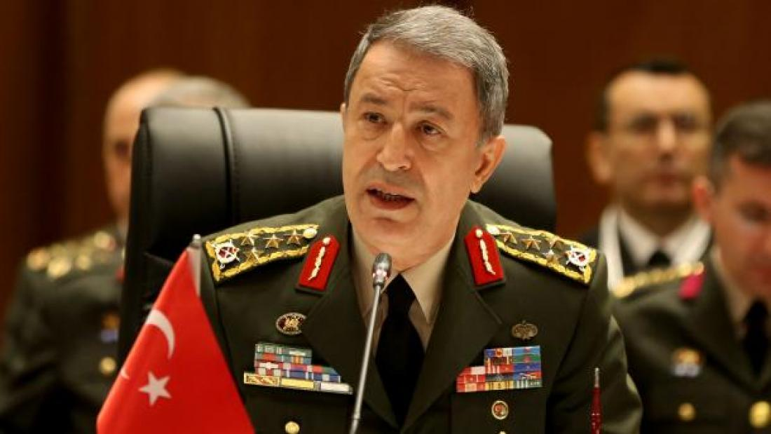 "Hulusi Akar: ""If there is need we will perform our duty in the Aegean and the Mediterranean"""