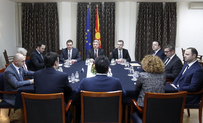 ΠΓΔΜ: Σύσκεψη των πολιτικών αρχηγών αύριο στα Σκόπια σχετικά με τις εξελίξεις στο θέμα του ονόματος