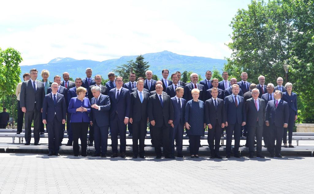 Δήλωση της Σόφιας κατά τη σύνοδο κορυφής ΕΕ-Δυτικών Βαλκανίων, 17 Μαΐου 2018