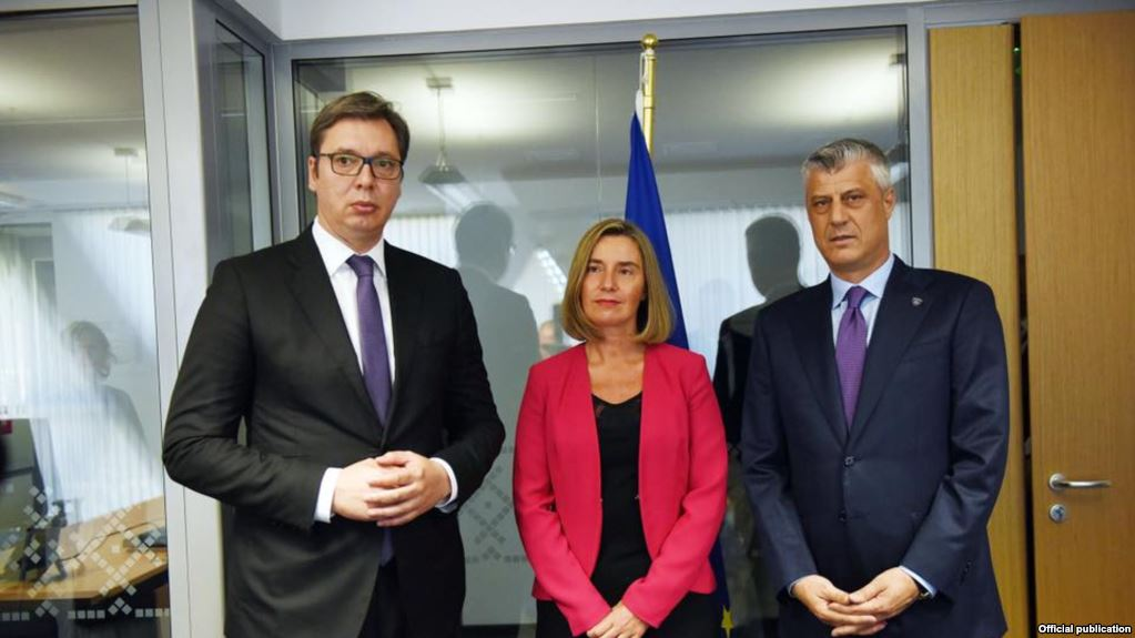 Thaci and Vucic meet in Sofia