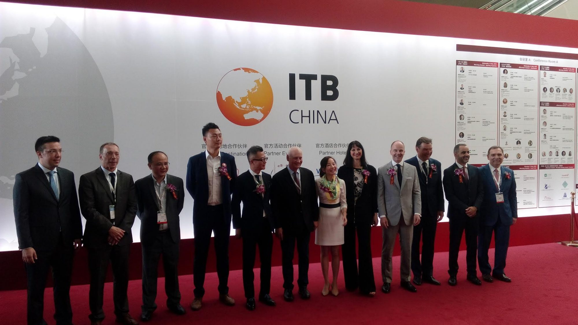 Greek Tourism minister inaugurates China's ITB leading tourism fair in Shanghai