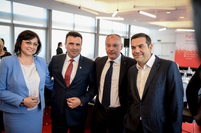 Υψηλές οι προσδοκίες των Τσίπρα και Zaev για την αυριανή τους συνάντηση στη Σόφια