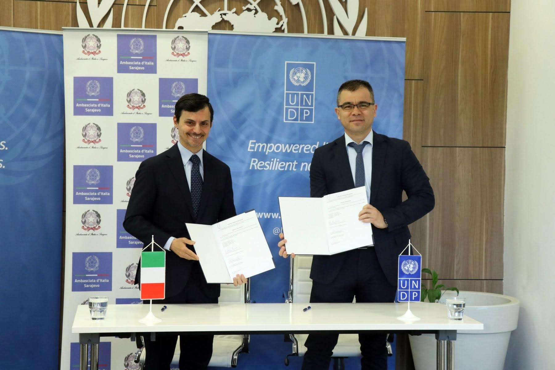 Italy supports the exquisite Via Dinarica and BiH's tourism potential