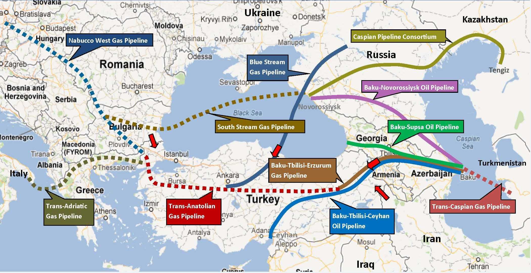 Διευρύνεται ο «Νότιος Διάδρομος» ή η Ε.Ε. ανοίγει νέο μέτωπο με την Ρωσία;