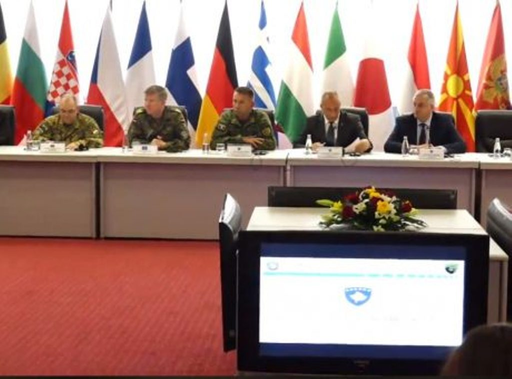 """""""Kosovo's Army will be a partner of peace in the country and the region"""""""