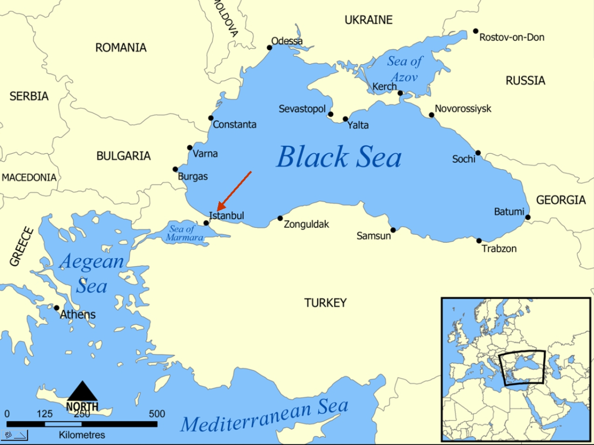 Bosporus Strait Map Energy: What will happen if Turkey closes the Straits?