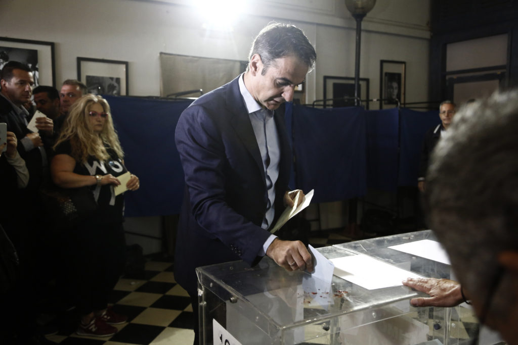 Greece: Main opposition head says 'NDopens its doors to all citizens'