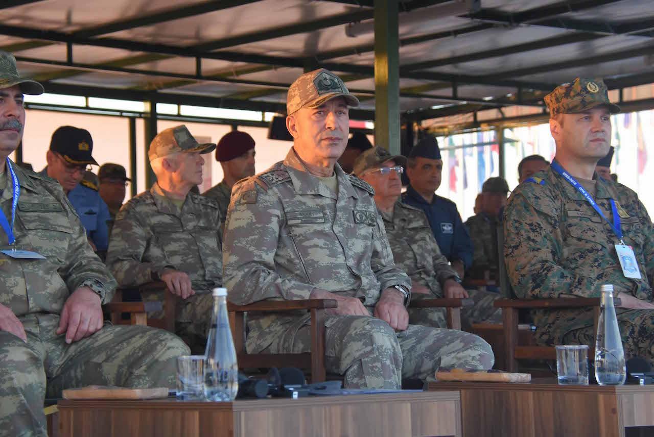 O αρχηγός των τουρκικών Ενόπλων Δυνάμεων επαναλαμβάνει πως η Τουρκία δεν θα επιτρέψει «τετελεσμένα στο Αιγαίο»