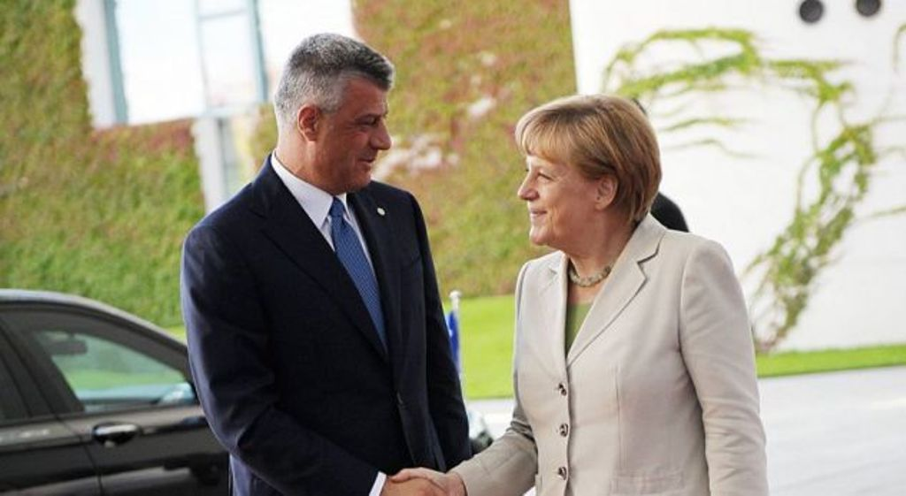 Chancellor Merkel encourages Kosovo to fight corruption