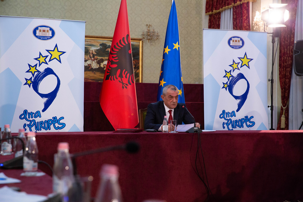 Albanian Assembly Speaker encourages political forces to collaborate