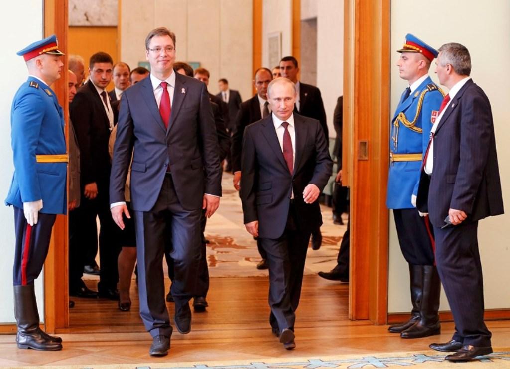 Vucic demands Putin's help on Kosovo