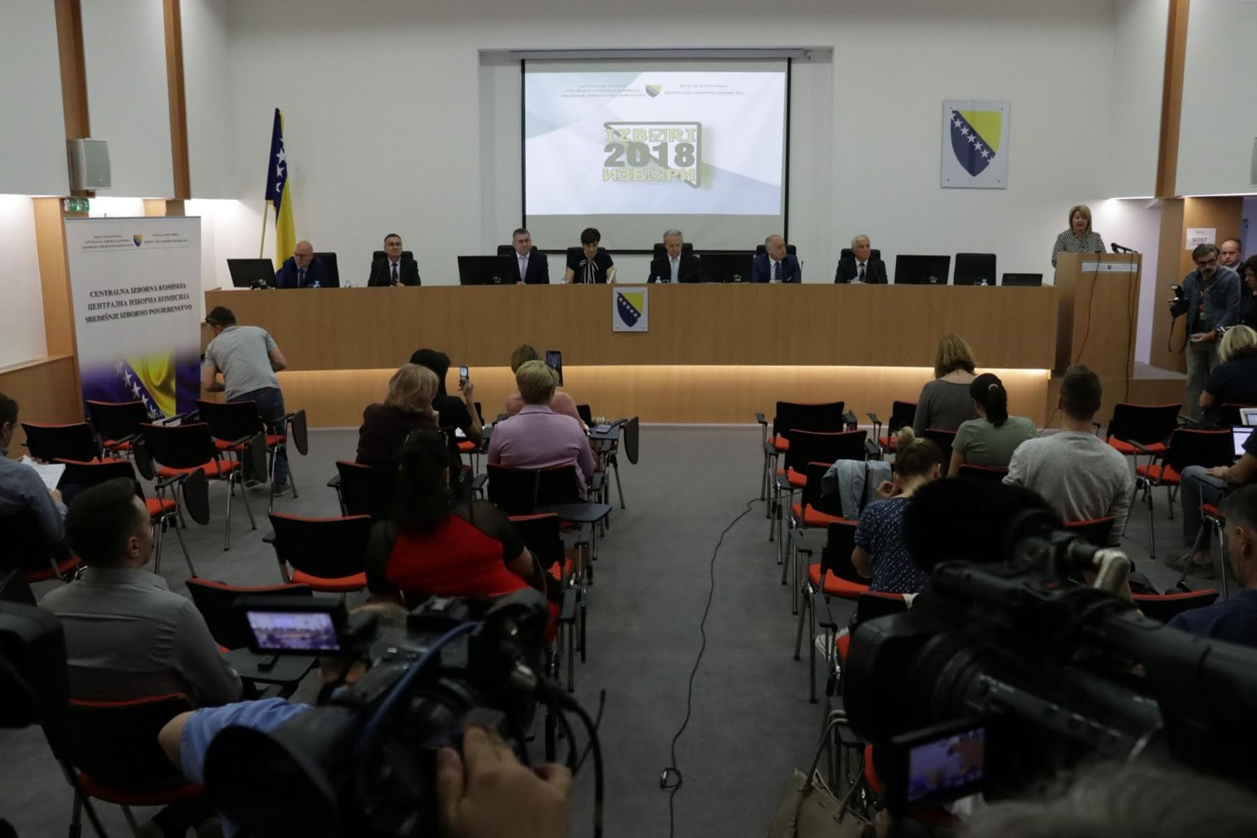 The CEC BiH announced the date of the 2018 General Elections
