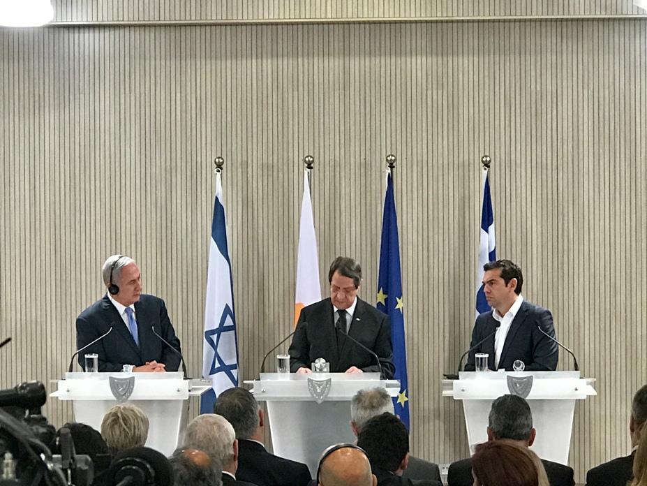 Cyprus-Greece-Israel 4th Trilateral Summit Declaration