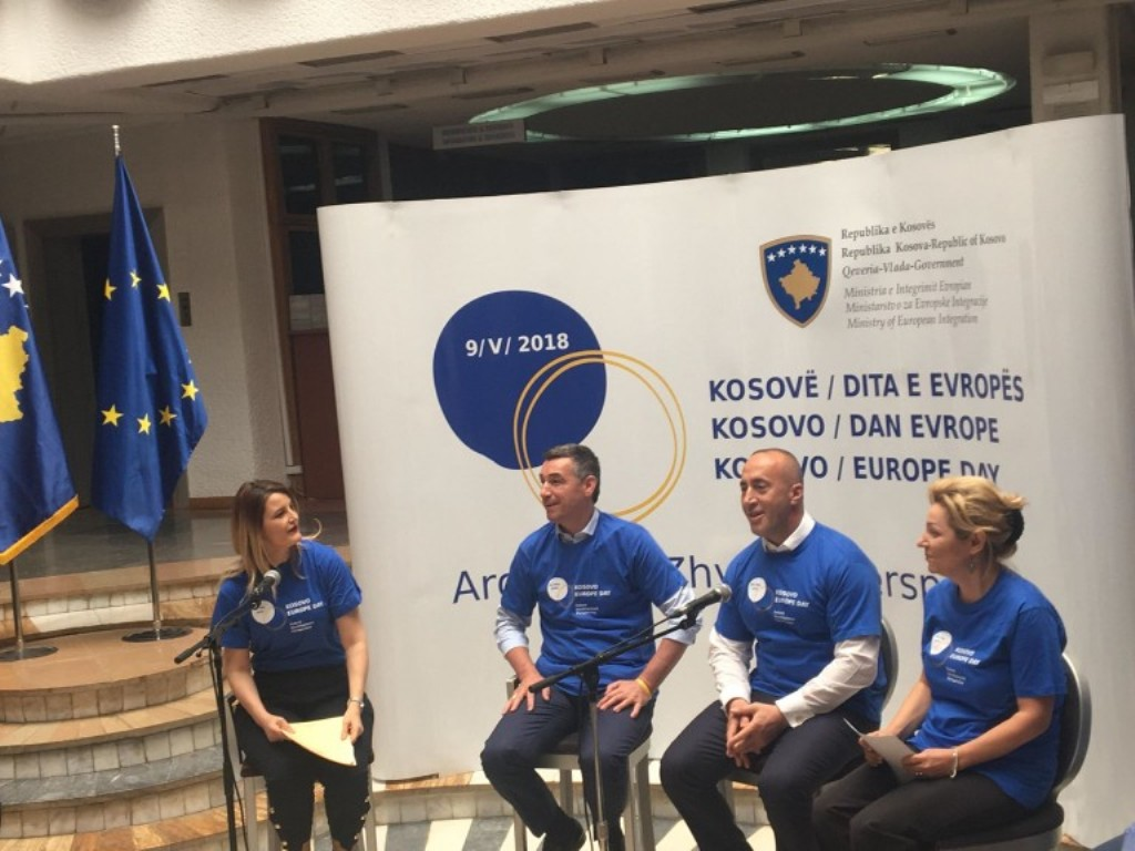 """Kosovo will soon be part of the European family"""