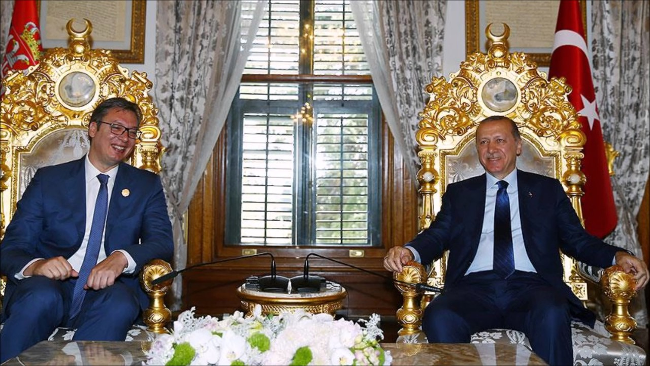Erdogan-Vucic consolidate strong ties and vow for higher bilateral trade targets