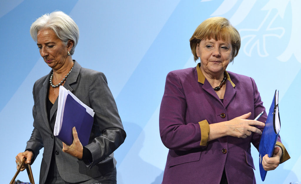 Greek debt: The points the IMF and Germany disagree on