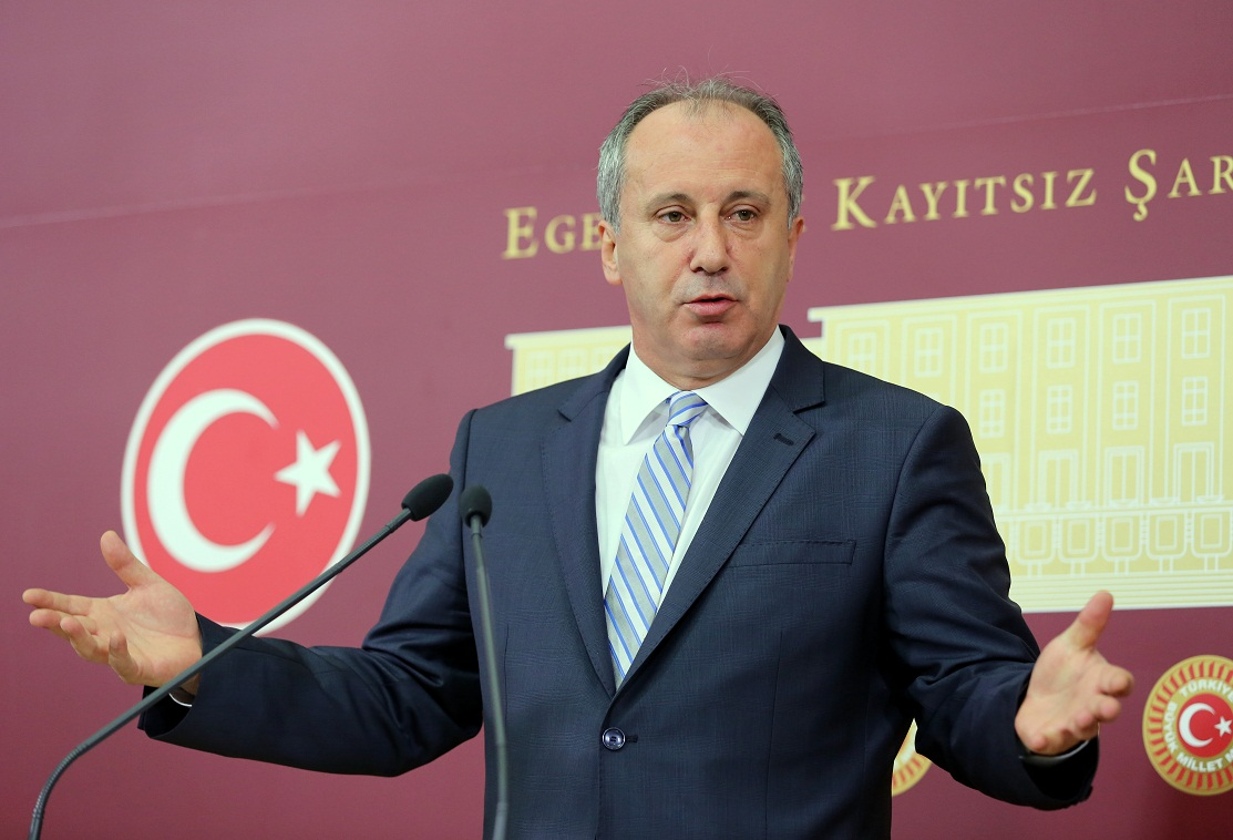 Turkey's main opposition announcespresidential candidate