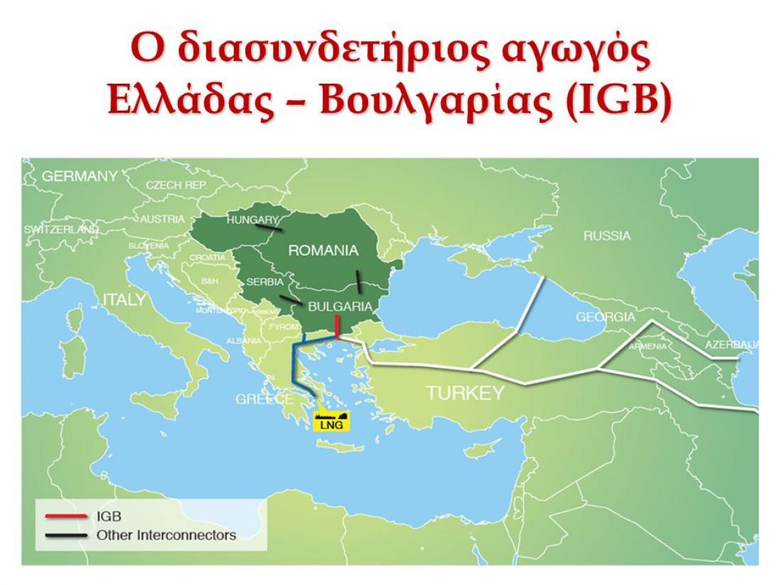 Βαλκάνια: Σάρκα και οστά παίρνει ο πολύπαθος αγωγός IGB