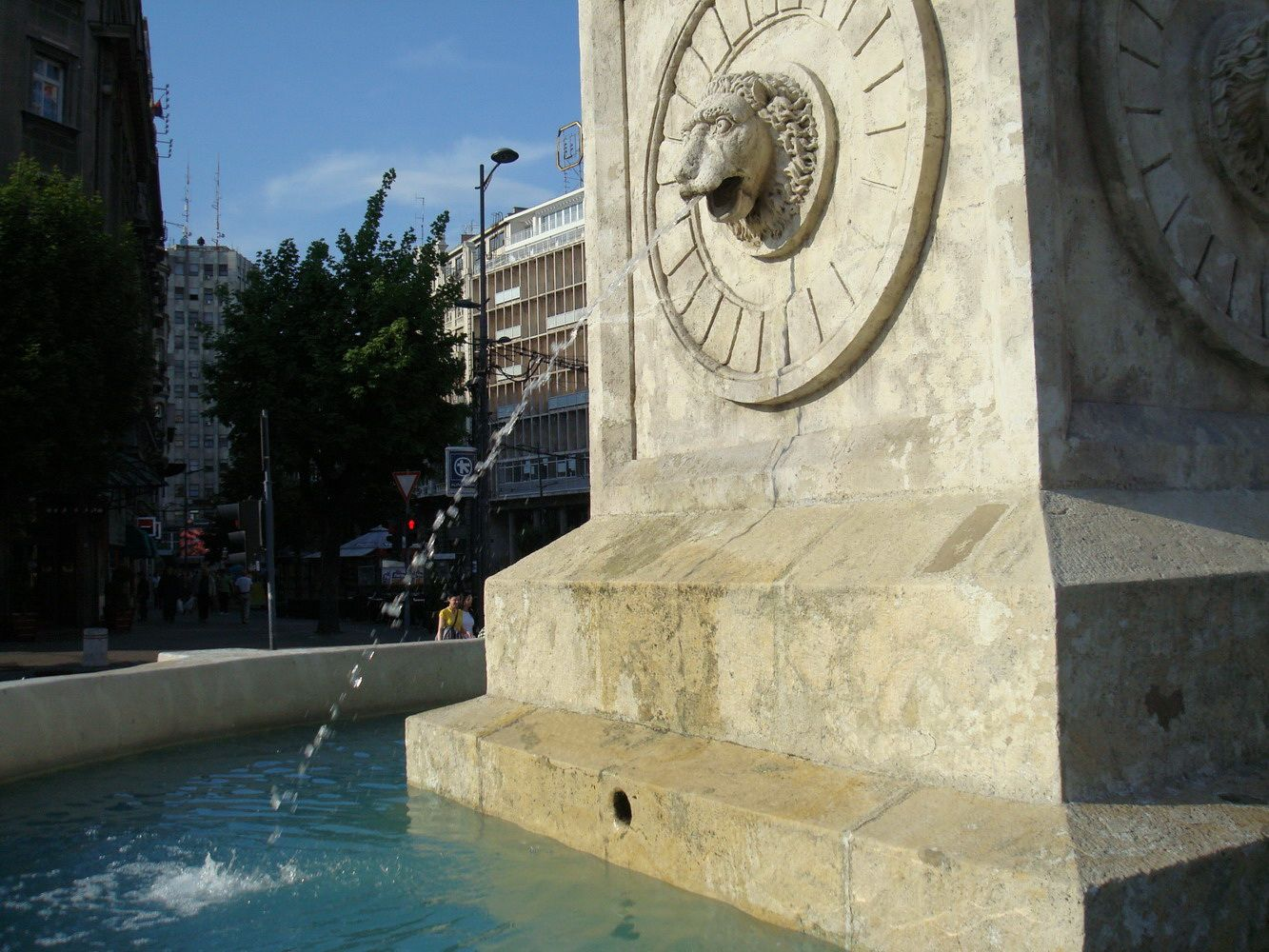 Vucic becomes the 'new king of fountains'