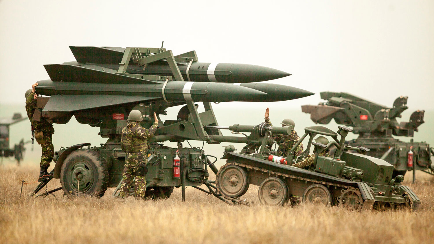 World's big defence spenders: Romania and Turkey among them