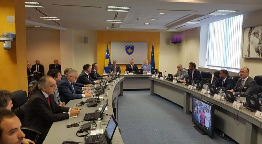 Thaci: The US supports dialogue between Kosovo and Serbia