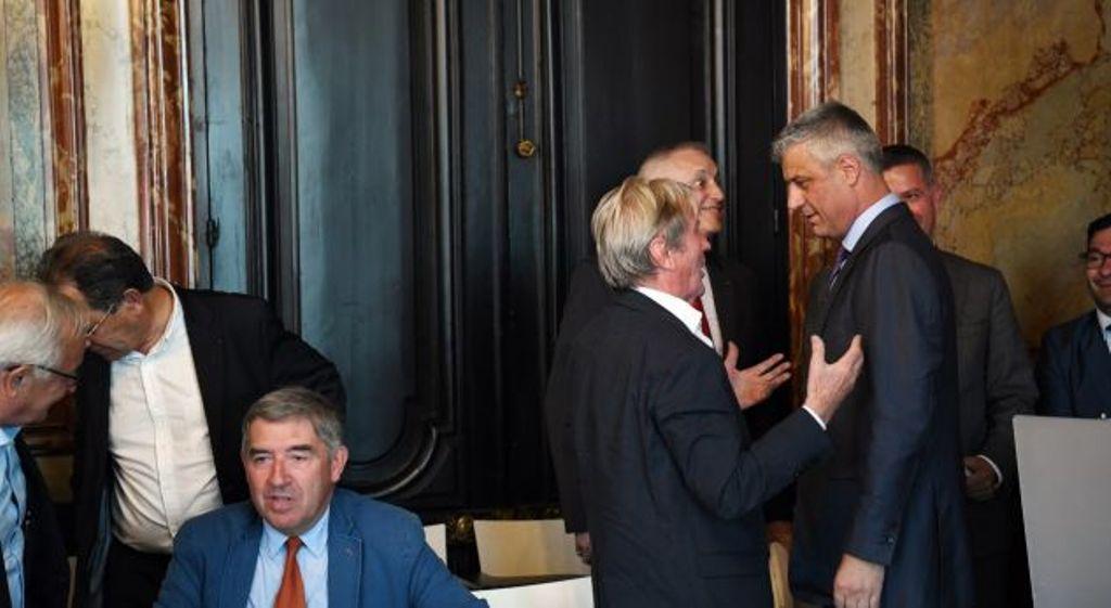 Thaci in Paris: Peace in the Balkan region depends on European integration
