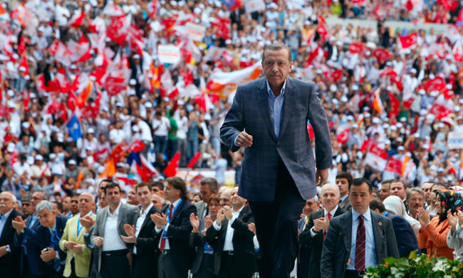 Erdogan is re-elected President of Turkey after triumphant win