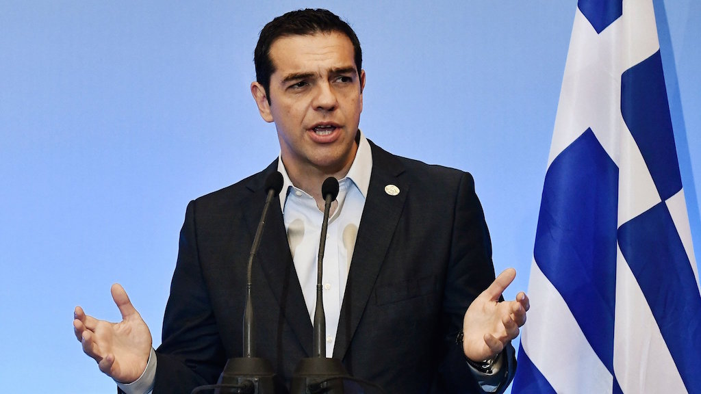 Alexis Tsipras in Brussels and London