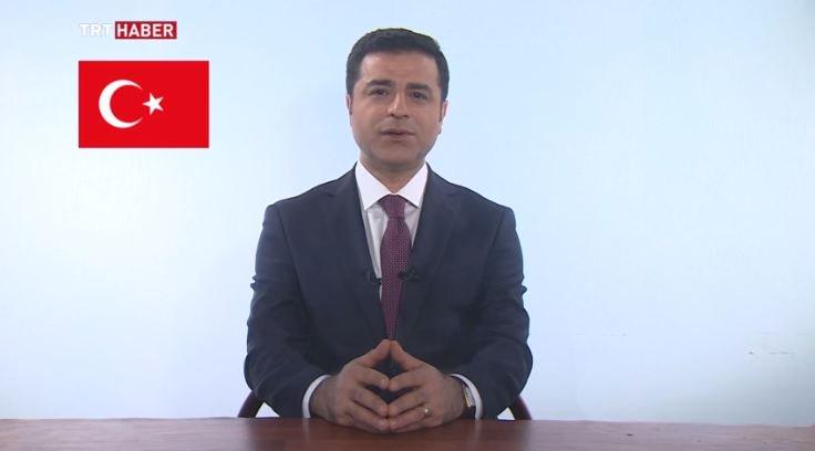 Προεκλογική ομιλία του Demirtas μέσα από τις φυλακές.