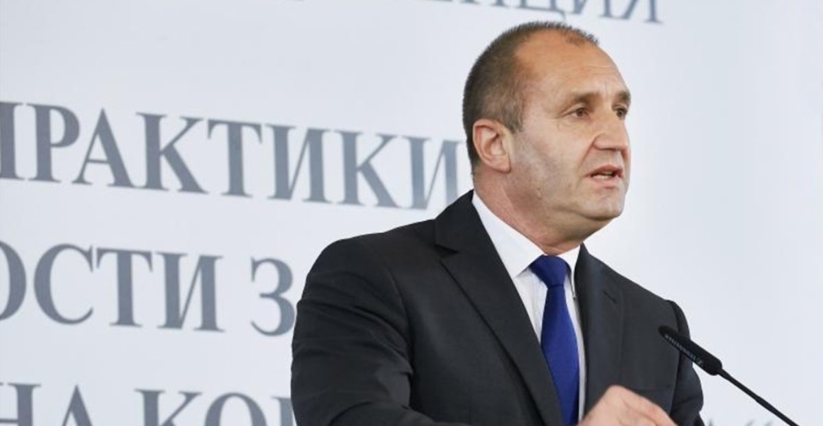 Bulgarian President Radev: Government 'showed courage' by picking Western Balkans as theme for EU Presidency