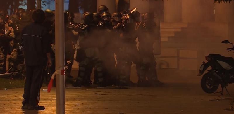 Επεισόδια μεταξύ διαδηλωτών και αστυνομίας στα Σκόπια για τη συμφωνία σχετικά με το ονοματολογικό