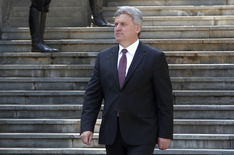Ivanov walks out of the name agreement meeting with Zaev and Dimitrov